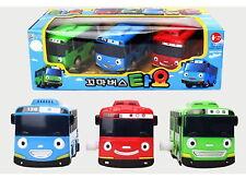 3pcs X Little Bus TAYO Wind UP Bus - Tayo,Rogi,Gani Toy Car Korea TV animation