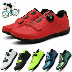 Professional Outdoor Cycling Shoes Men's Athletic Racing Road Sneakers Comfort