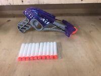 NERF REBELLE DIAMONDISTA A8795 Purple Free Ammo Freepost Crossbow