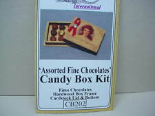 Dollhouse Miniature Candy Box Kit -  #CB-202- 1/12th Scale Non-Edible Clay Candy