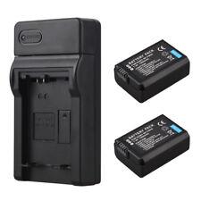 2x NP-FW50 Batterie + Ladegerät Für Sony Alpha 7 a7 7R a7R a7S a3000 a5000 a6000
