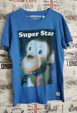 Jack & Jones Originals ''Super Star'' Blue T Shirt Size M Medium Summer/Holiday