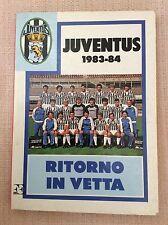 JUVENTUS F.C. PRESENTAZIONE CAMPIONATO 1983/84  - LIBRO ALMANACCO CALCIO