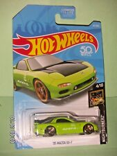 HOT WHEELS 2018 141/365  '95 Mazda RX - 7  NIGHTBURNERZ 4/10  1:64