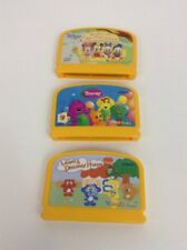 LOT (3) Vtech V.smile Baby Learning Video Games Barney Mickey Discover Home