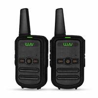 2PCS Mini WLN KD-C52 Walkie Talkie UHF transceiver 16CH Ham two way radio
