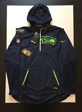 Nike NFL Seattle Seahawks OnField Lightweight Fly Rush Jacket Mens Size 2XL