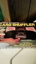 Automatic Card Shuffler Push Button Works 1 Or 2 Decks Cards 1987 Vintage Jobar
