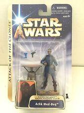 Star Wars Action Figure 2003 Star Wars Saga #37 Achk Med-Beq Coruscant Outlander