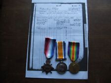 W.WAR.1. 1914/15 STAR TRIO.  CASUALTY .   FROM LIVERPOOL.  ROYAL NAVY