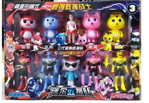 MiniForce X Transformation Toy 9 Styles Mini Agent Toys X Volt Semey Air Force B