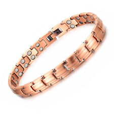 New Thin Pure Copper Magnetic Bracelet women Arthritis Pain Relief Energy Anklet