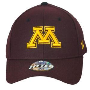 NCAA Original Zephyr Minnesota Golden Gophers Maroon Fitted Size Hat Cap