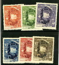 France Stamps Allied Heroes WWI