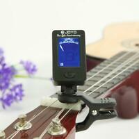 JOYO JT-01 Mini Bass Guitar Clip-on Tuner Violin Ukulele Electronic Tuners Parts