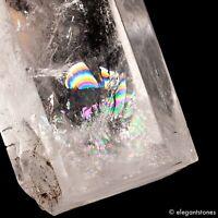 279g 116mm Natural Clear Quartz Rock Crystal Point Obelisk Wand Healing Chakra