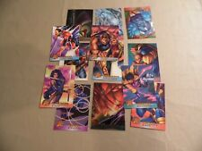Lot of 13 1995 & 1996 Fleer Ultra X-Men Cards / Free Domestic Shipping
