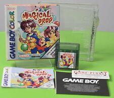 Magical Drop Nintendo Game Boy Color OVP  in Box Anleitung ähnlich Bubbel Bobbel