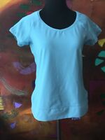 Nike Blue Short Sleeve Fit Dry Tee Women's Size Small