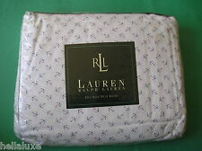 ~RARE~nip~Ralph Lauren CLASSIC AMERICAN SUMMER ANCHOR QUEEN Size Bed Flat Sheet~