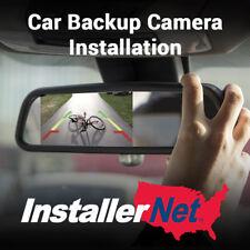 Car Backup Camera Installation from InstallerNet - Lifetime Warranty
