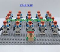 Star Wars yoda commander 332nd Clone Trooper Army lego 21 Pcs Minifigures 2020