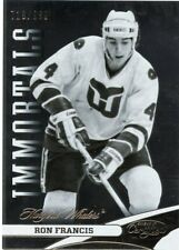 12/13 CERTIFIED IMMORTALS #132 RON FRANCIS /999 WHALERS *47405