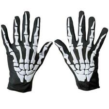 Cycling Gloves Halloween Horror Skull Claw Bone Skeleton Racing Full Gloves 2020