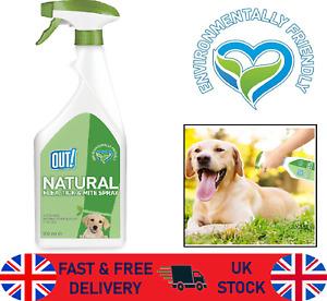 Flea Tick Mite Treatment Spray Dogs Repels Repellent Natural Safe Prevent 500ml