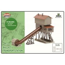 Model Power 1597, N Scale, Ballast Transportation Building Kit