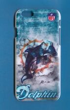 """MIAMI DOLPHINS Rigid Snap-on Case for iPhone 6 / 6S 4.7"""" (Design 2)+FREE STYLUS"""