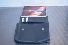 RENAULT SCENIC HANDBOOK MANUAL WITH WALLET 1999-2003