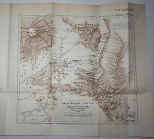 1906 Sketch Map of the Guas Ngishu Plateau by Major Gibbons British East Africa