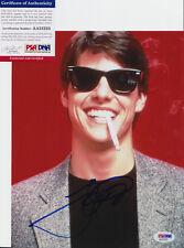 TOM CRUISE RISKY BUSINESS TOP GUN SIGNED AUTOGRAPH 8X10 PHOTO PSA/DNA COA #4