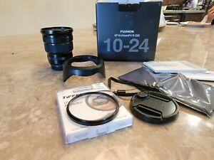Fujifilm Fujinon Fuji XF 10-24mm F/4 OIS R Lens with UV filter