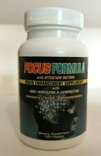Windmill Health FOCUS FORMULA 120 caplets Memory Recall Concentration Attention
