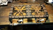 Antique Griswold 202 Two Burner Gas Stove Cast Iron Cookware Ice Fishing