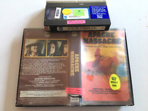 Apache Massacre VHS CBS FOX Ex-Rental Large Case