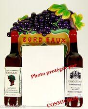 MAGNET aimant BLOC NOTE publicité résine pub bouteilles vin de BORDEAUX pauillac