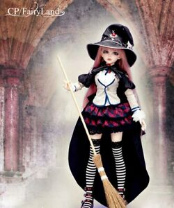 """FairyLand MiniFee Mirwen """"Magic School"""" complete outfit and wig"""