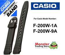 REPLACEMENT CASIO WATCH BAND ORIGINAL ONLY FITS: F-200W-1A, F-200W-9A