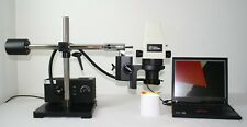 Fisher Stereomaster 12 564 160 Digital Zoom Microscope With Laptop Amp Boom Stand