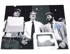 APPLE COMPUTERS FOUNDER STEVE WOZNIAK SIGNED 11x14 PHOTO COA A MAC IPOD JOBS WOZ