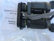 TOP Carl Zeiss Jena EDF 7x40 NVA  m. Strichplatte Fernglas Binoculars BW