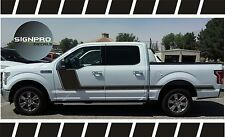 F150 Solid Side Body Hockey Decals Side Stripes Matte Avery Custom Color