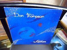 Don Thompson Jupiter LP 1975 Sunday Records VG+ [Champaign Illinois] FOLK