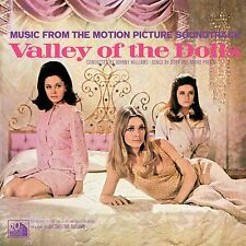 Valley Of The Dolls Original Movie Soundtrack John Williams/Previn New Vinyl Lp