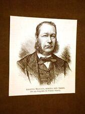 Agostino Magliani nel 1878 Laurino, 18 luglio 1824 – Roma, 20 febbraio 1891