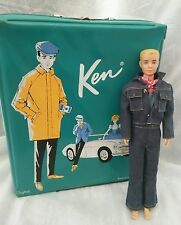 1960 Ken doll with 1962 Ken Pony Case