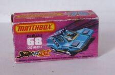 Repro Box Matchbox Superfast Nr.68 Cosmobile